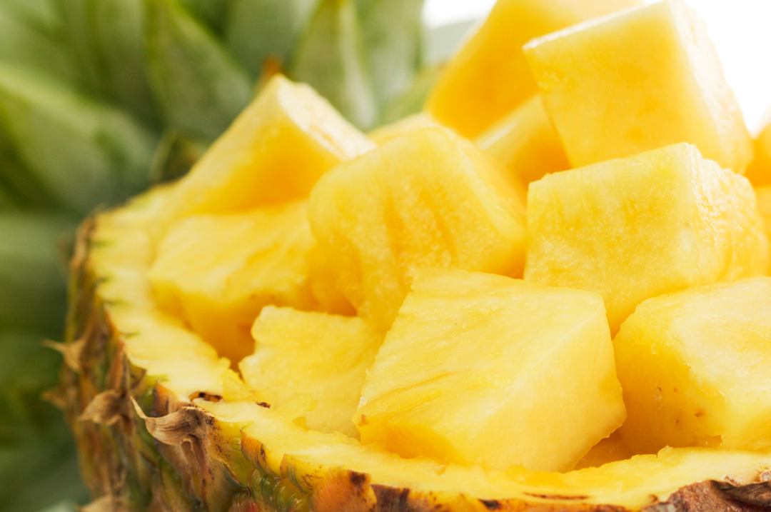 Gesneden ananas